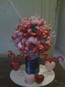 soda candy bouquet